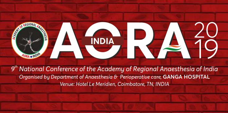 Academy of Regional Anaesthesia of India (AORA 2019