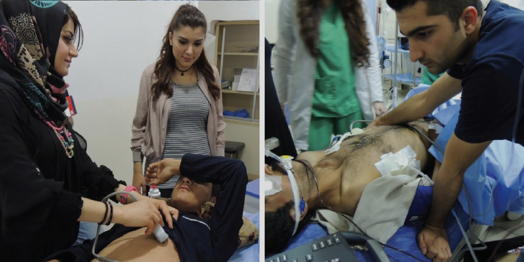 SonoSite blog: The Indispensable Role of Ultrasound in Iraq
