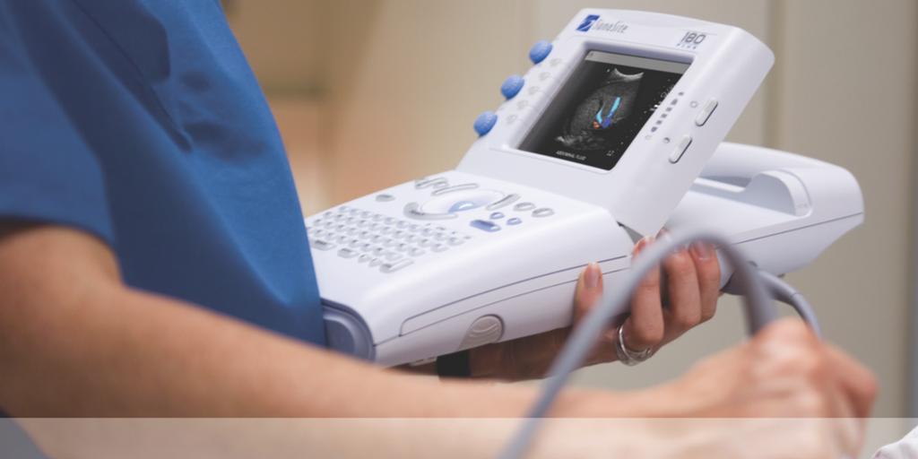 SonoSite 180 portable ultrasound system