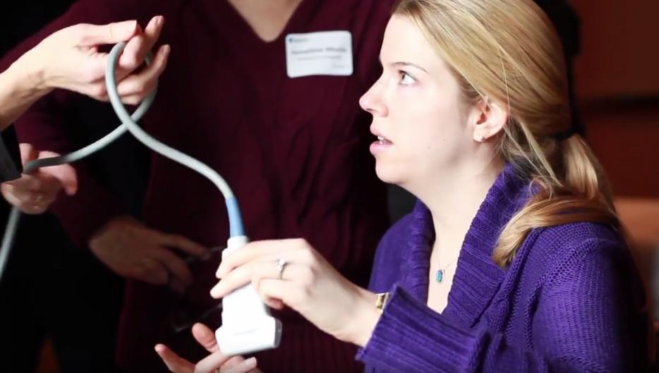 SonoSite visual medicine workshop