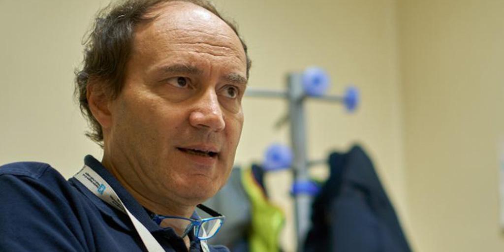 Dr. Enrico Storti of Maggiore Hospital in Lodi, Italy