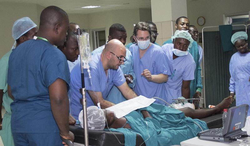 Dr. Ilyas Tugtekin, senior anesthetist at Ulm University Hospital, Baden-Württemberg, recently traveled to Kumasi in Ghana to help set up an ultrasound training center for doctors across West Africa.