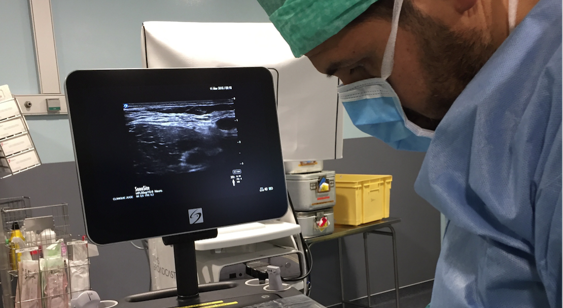 Anaesthetist Dr Philippe Grillo explains the role of point-of-care ultrasound in ensuring effective nerve blocks and post-operative pain relief.