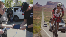 Sonosite blog: Race Across America