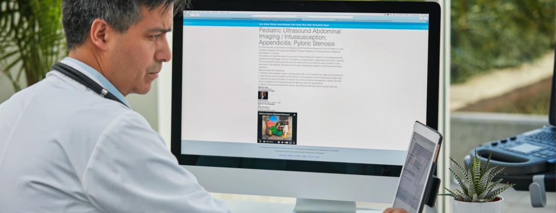 SonoSite education header image