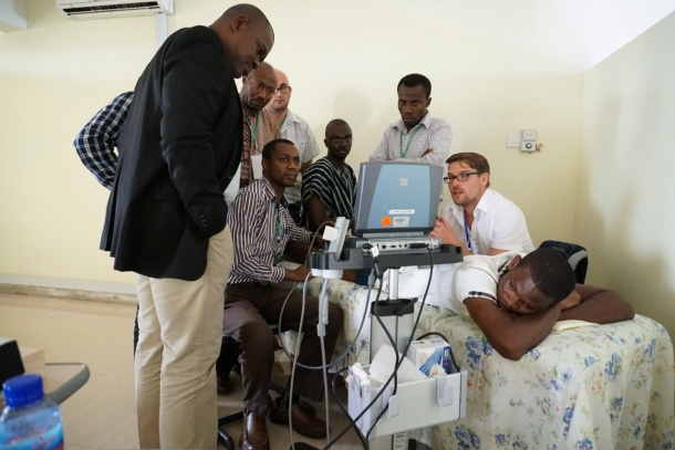 Dr. Tugtekin talks about the project and the potential of point-of-care ultrasound in West Africa